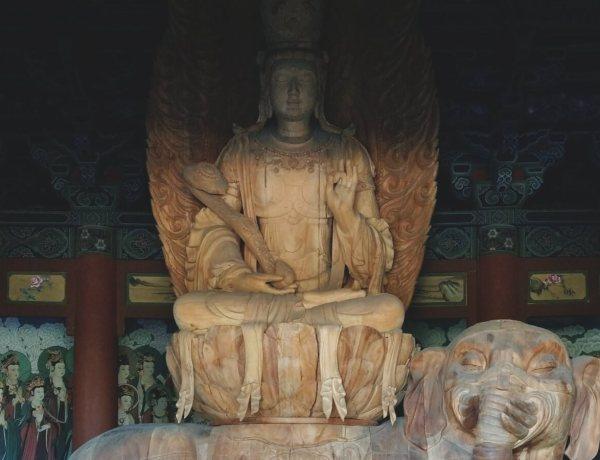 Budda z Datongu w Chinach.