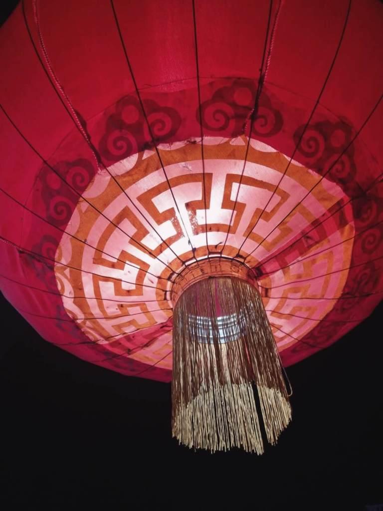 Czerwona, chińska latarnia.