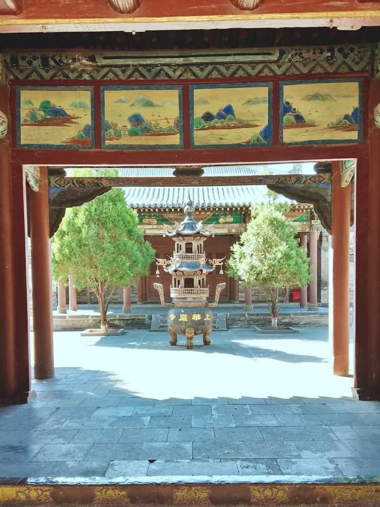 Kadzielnica w klasztorze Huayan w Datongu, w Chinach.