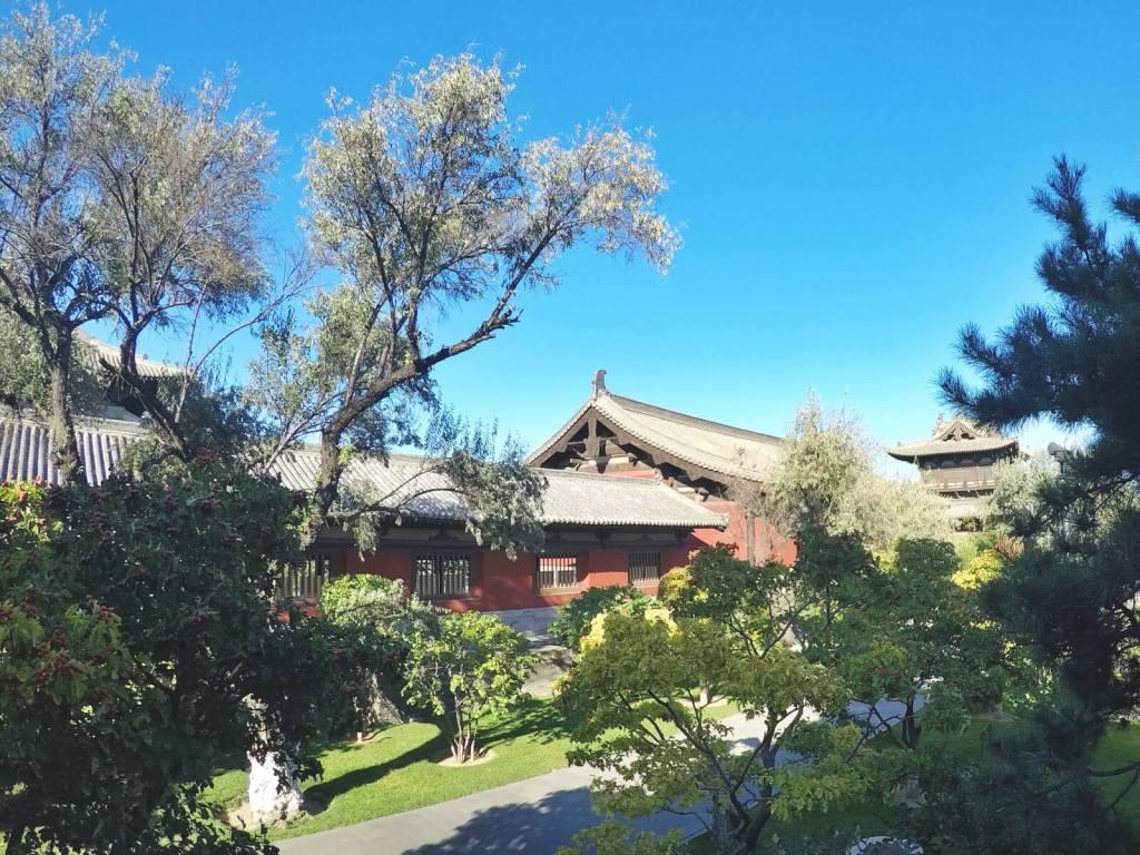 Buddyjski klasztor Huayan w Datongu, w Chinach.