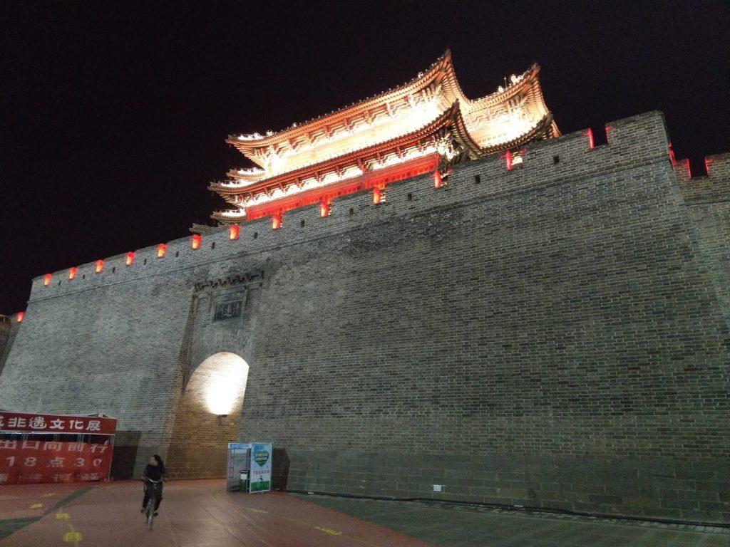 Mury starożytnego miasta Datong.