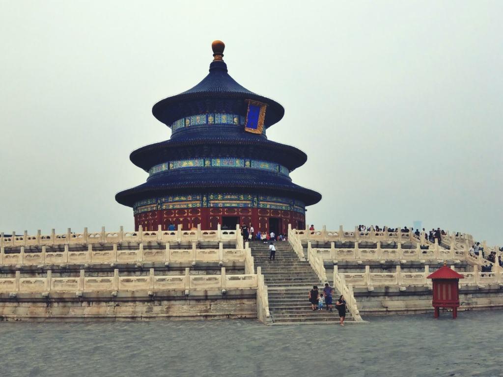 Pawilon Modlitwy o Urodzaj. Świątynia Nieba w Pekinie.