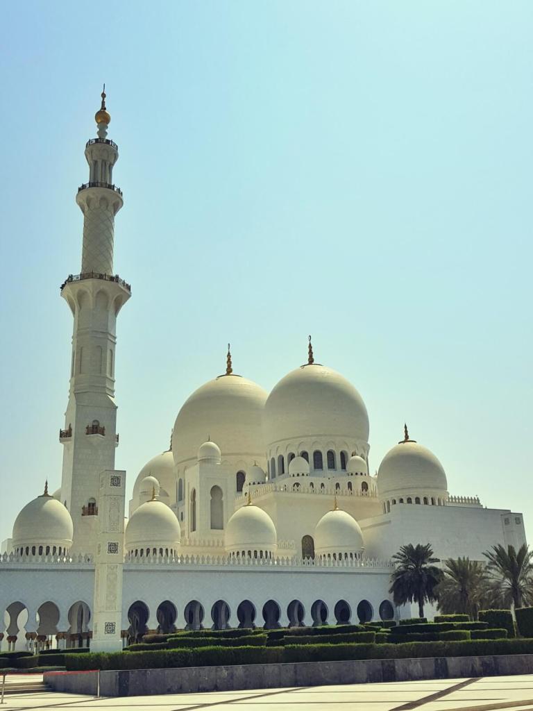 Meczet w Abu Zabi.