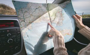 Mapa turystyczna.