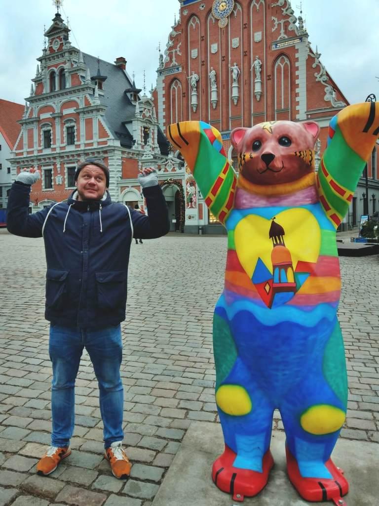 Bloger podróżniczy w Rydze na Łotwie.