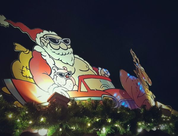 Jarmark bożonarodzeniowy w Hamburgu.
