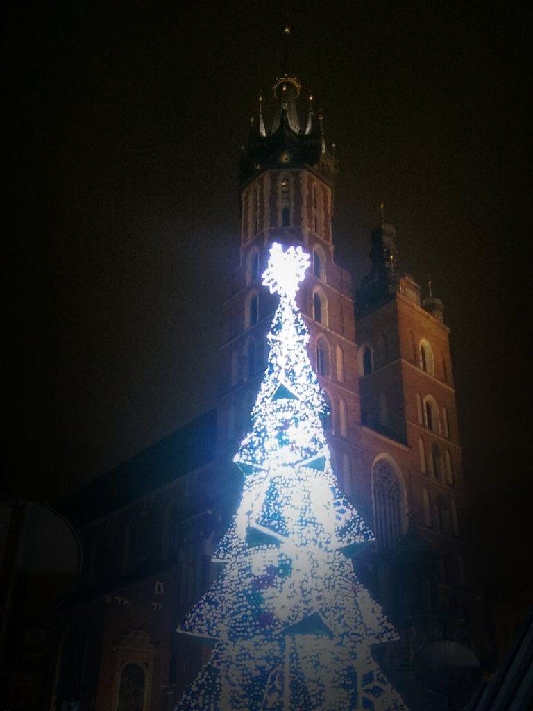 Jarmark bożonarodzeniowy w Krakowie.