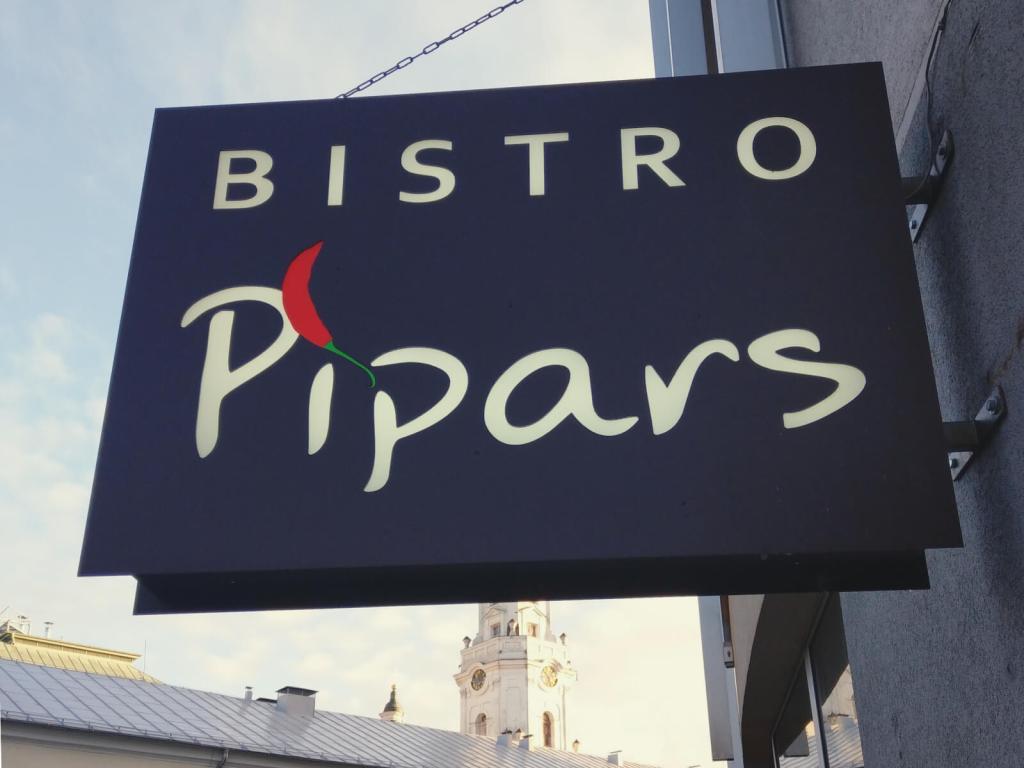 Bistro Pipars w Rydze.