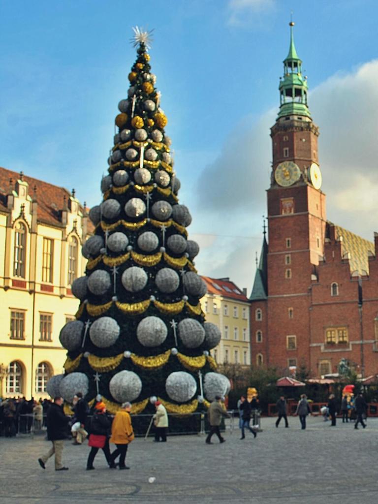Jarmark bożonarodzeniowy we Wrocławiu.