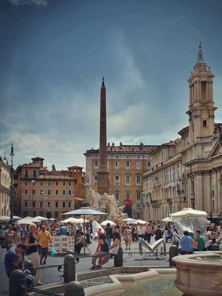 Najładniejszy rzymski plac Piazza Navona.