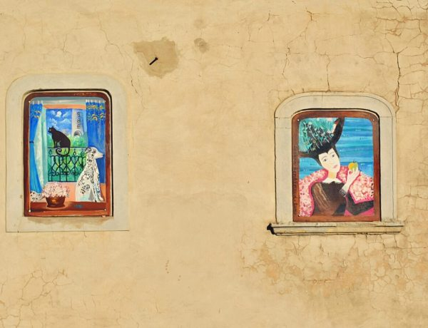 Bratysławskie murale.