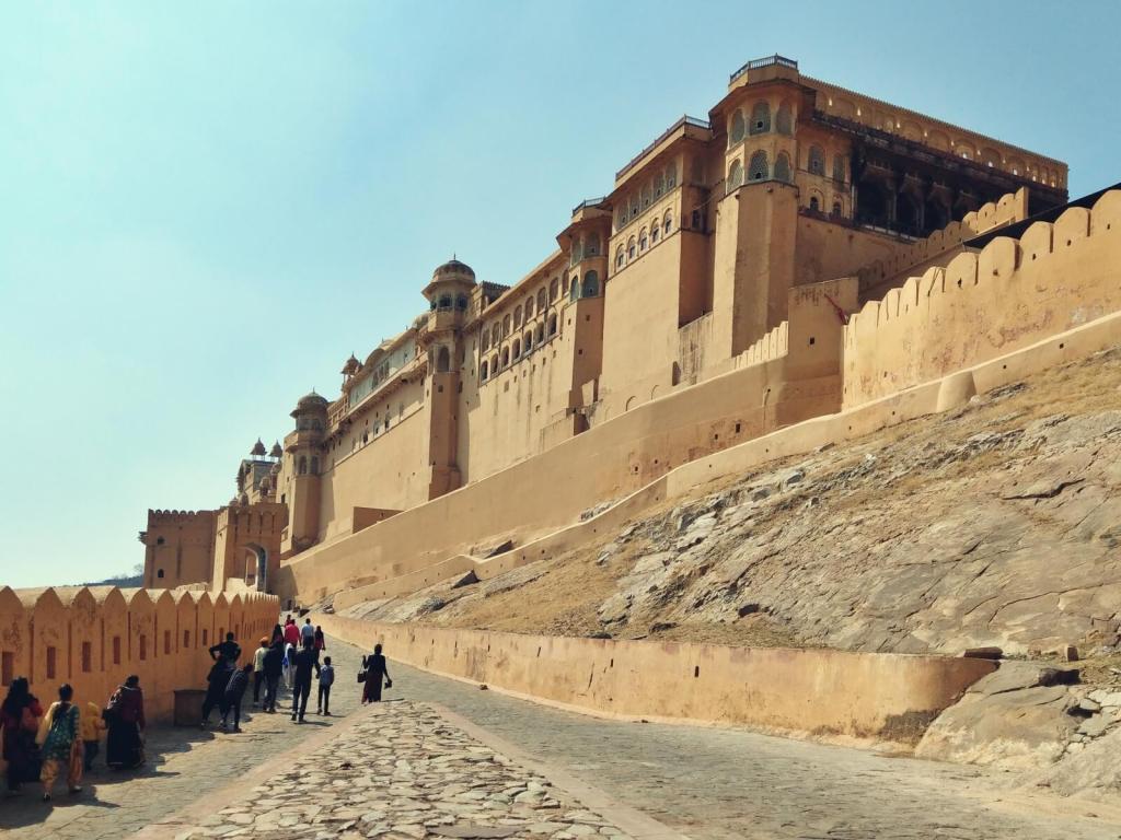 Amber Fort w Dżajpurze w Radżastanie.