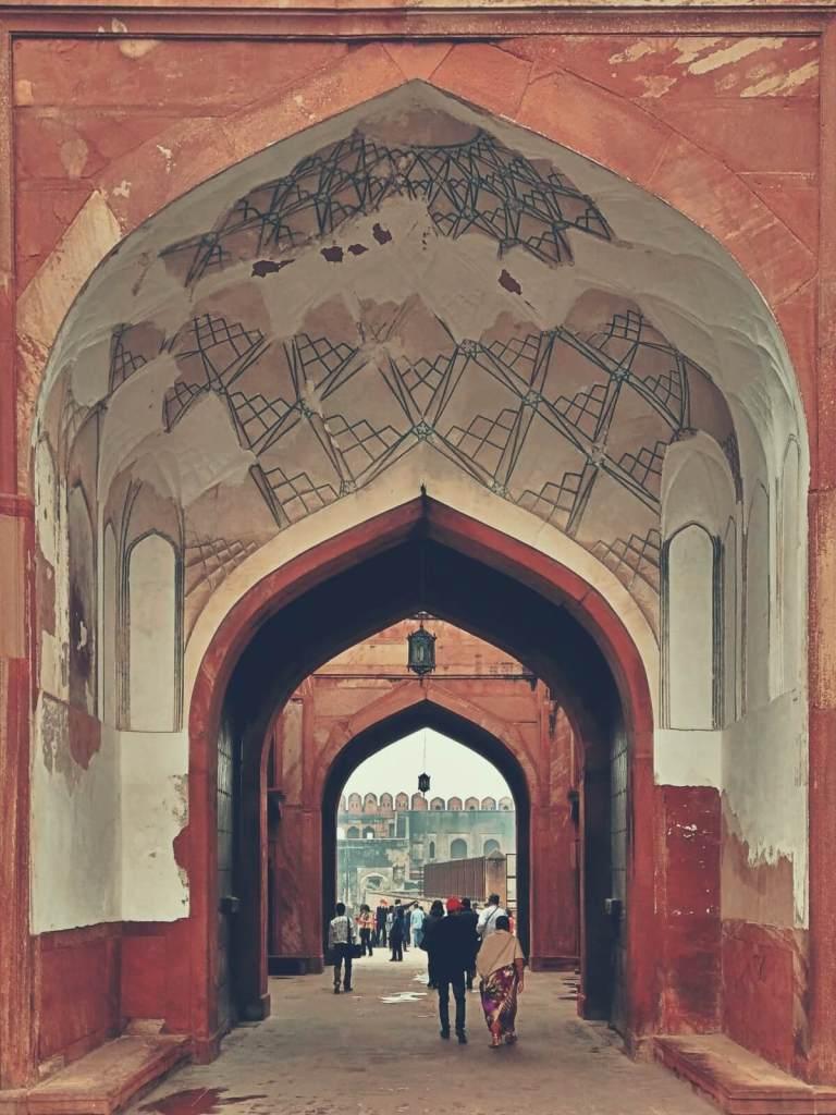 Brama do fortu w Agrze.