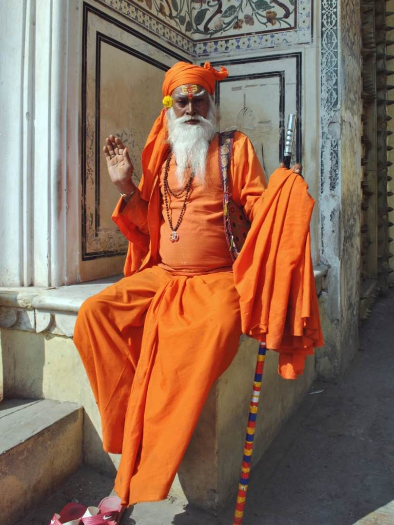 Indyjski jogin.