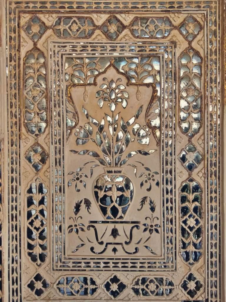 Lustra z fortu w Jaipurze.