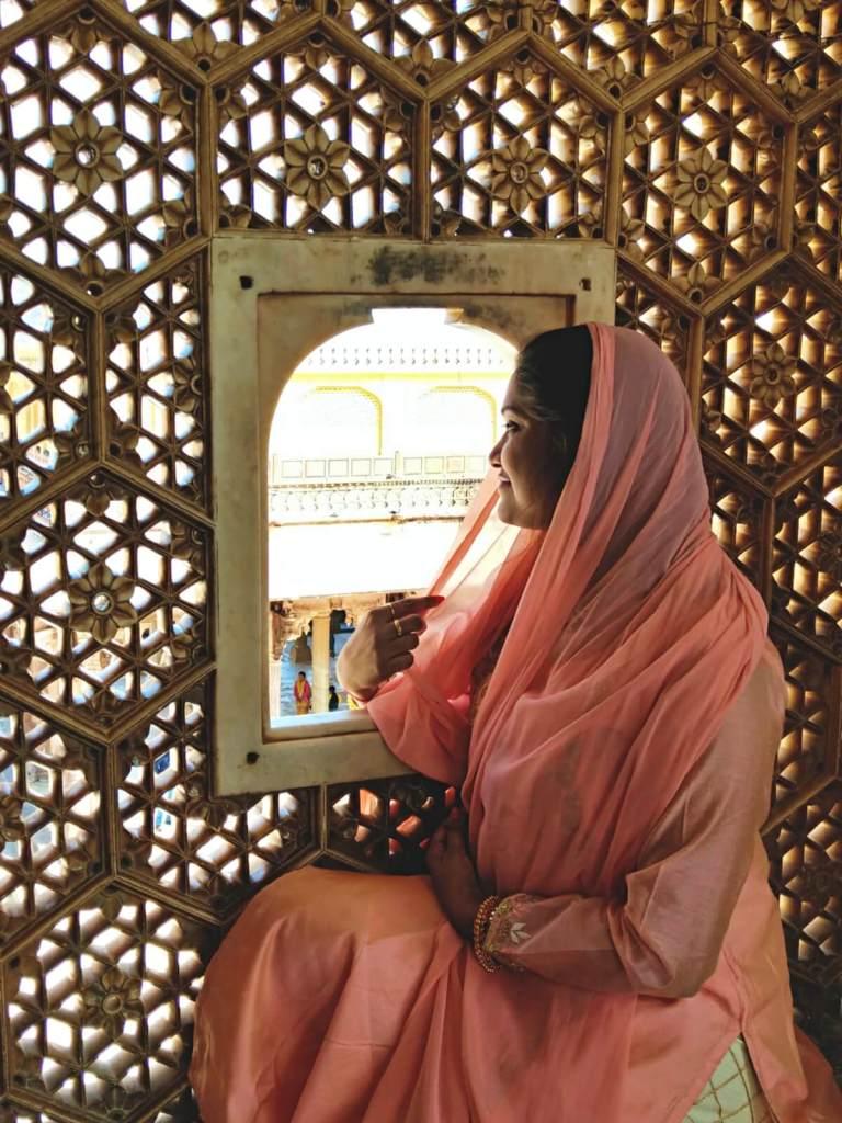Indyjska kobieta.