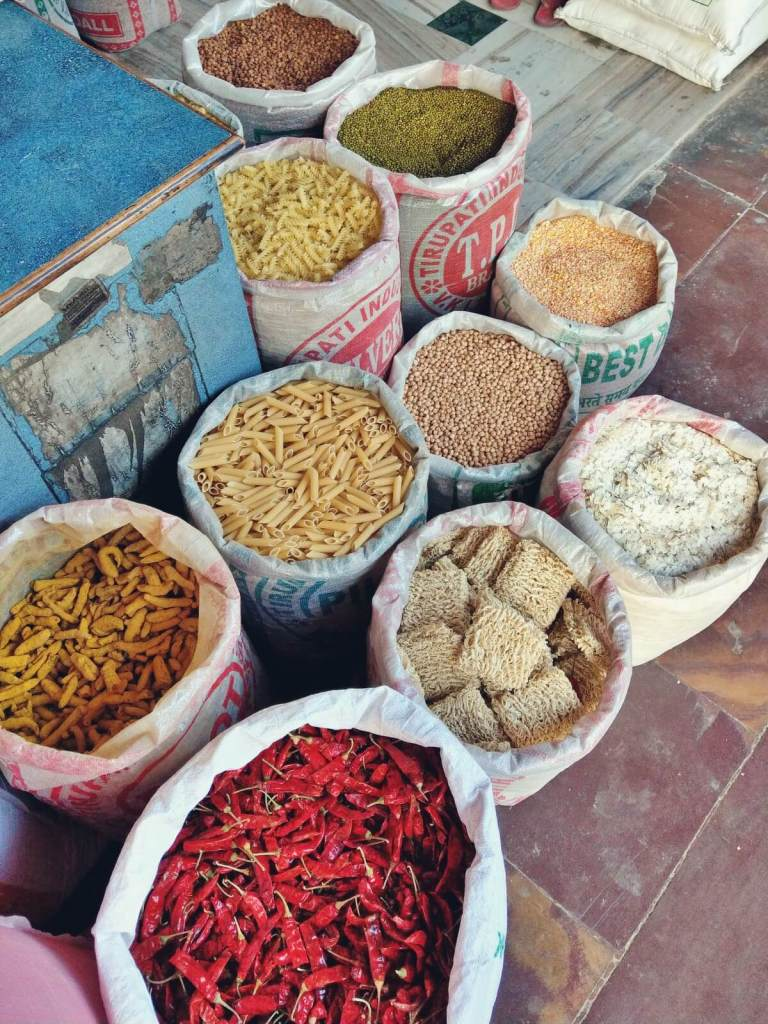 Indyjskie przyprawy.
