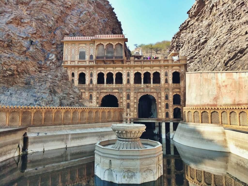 Indyjska świątynia hinduistyczna.