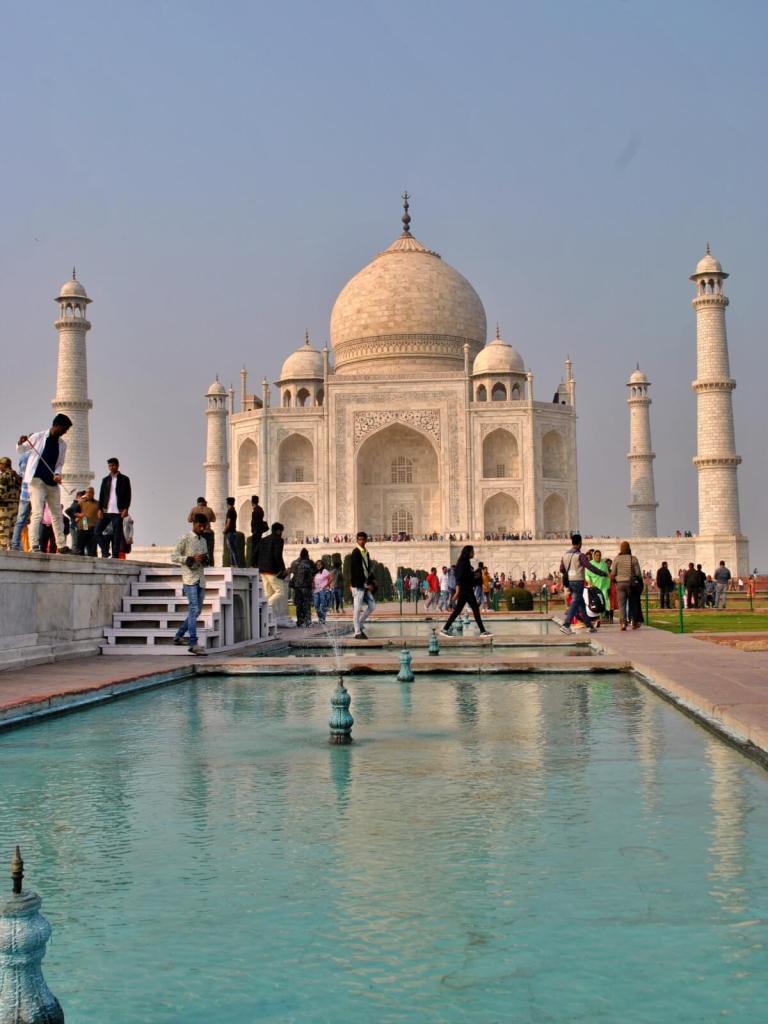 Tadź Mahal w Agrze.