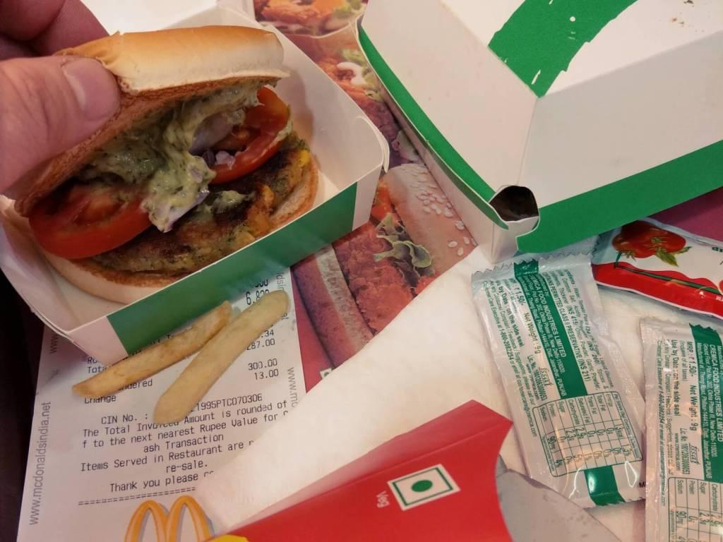 Wegańskie burgery w McDonald's.