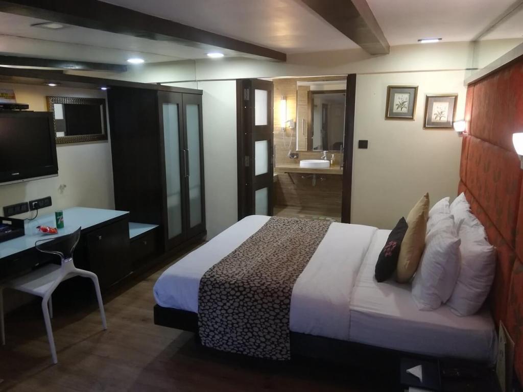 Residency Hotel Fort w Bombaju.