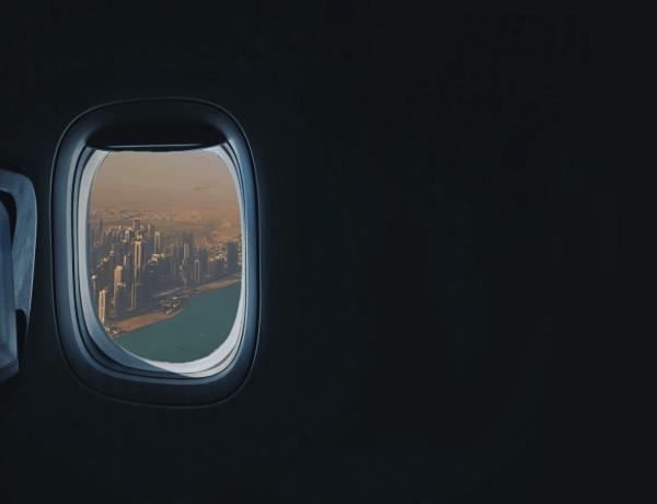 Widok na Dohę.
