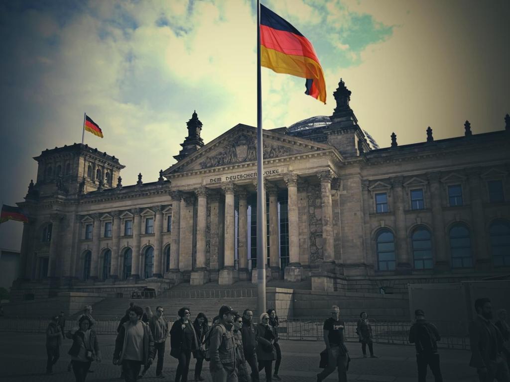 Reichstag, berliński parlament.