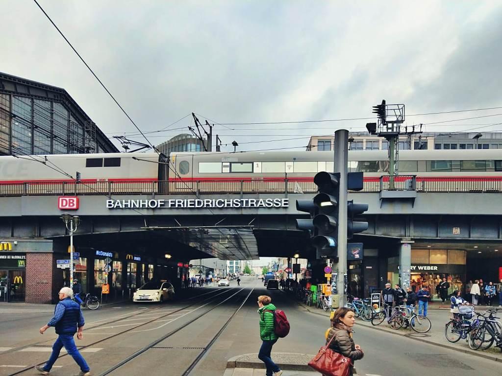 Dworzec w Berlinie.
