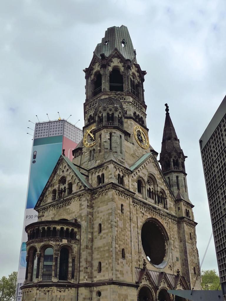 Kościół Pamięci w Berlinie.