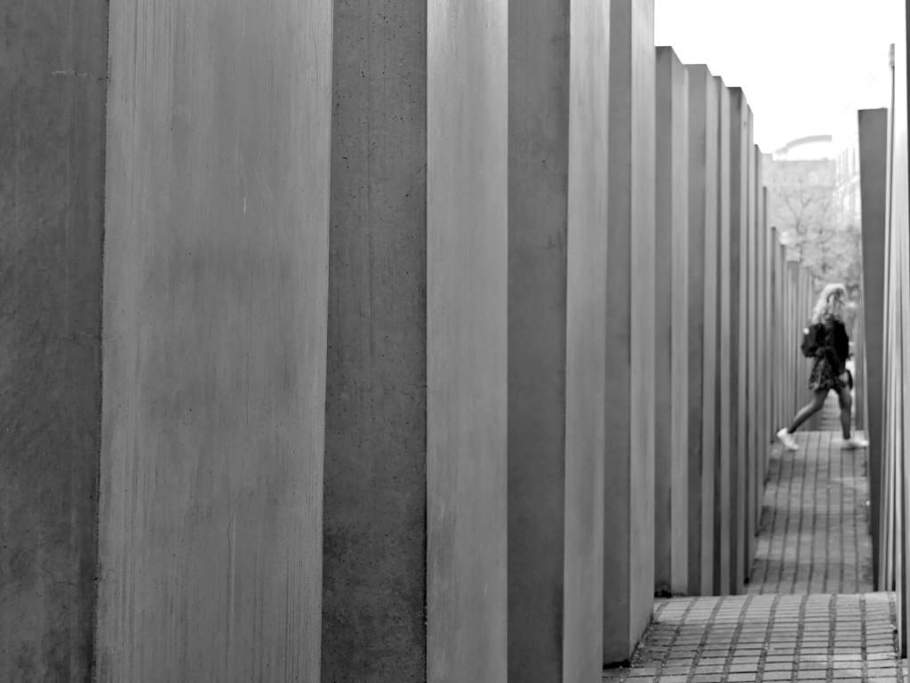 Pomnik pomordowanych Żydów Europy w Berlinie.