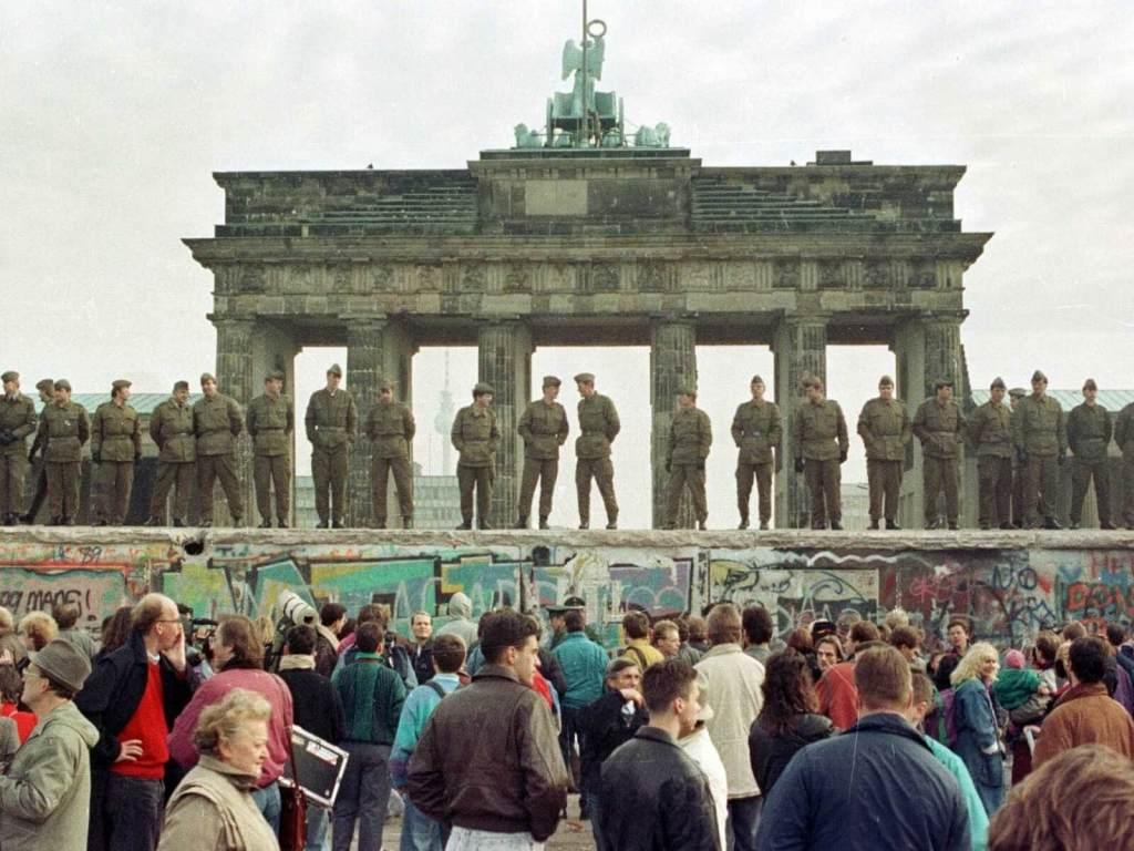 Upadek muru berlińskiego.