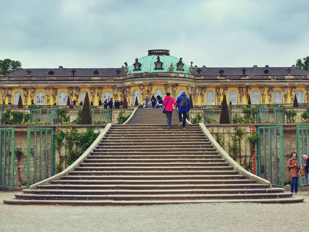 Pałac Sanssouci w Poczdamie.