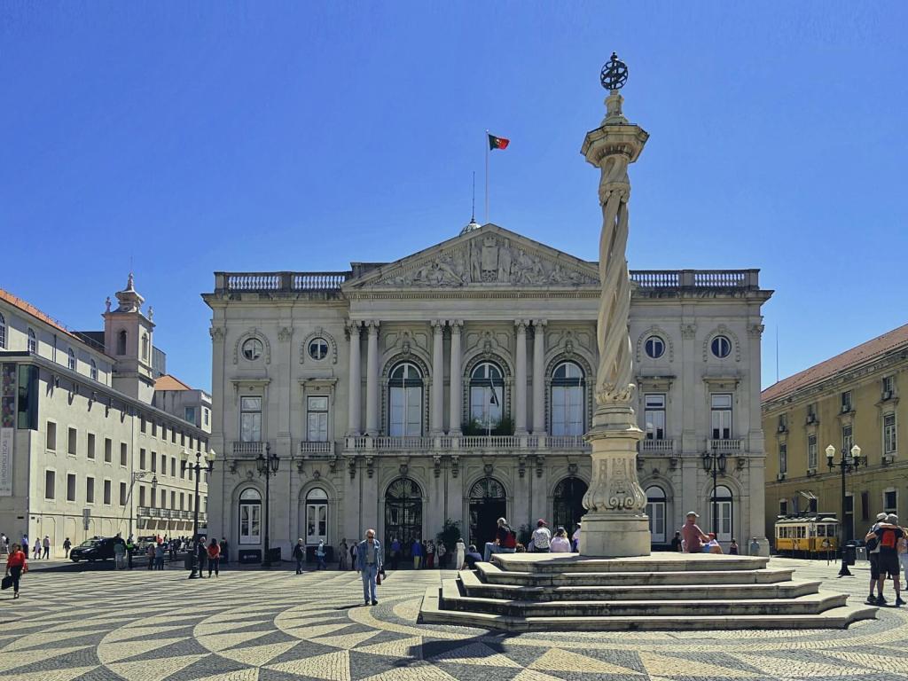 Lizboński ratusz.