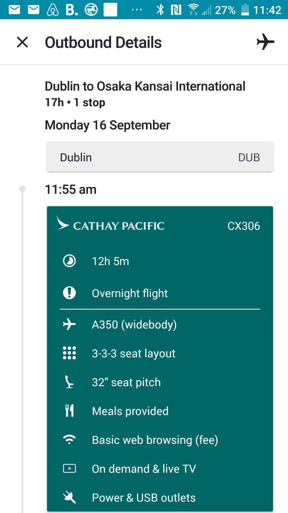 Aplikacja dla podróżników Skyscanner.
