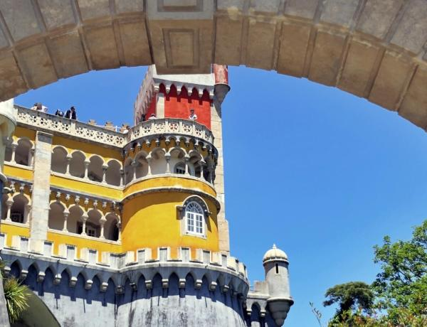 Pałac Pena w Sintrze w Portugalii.