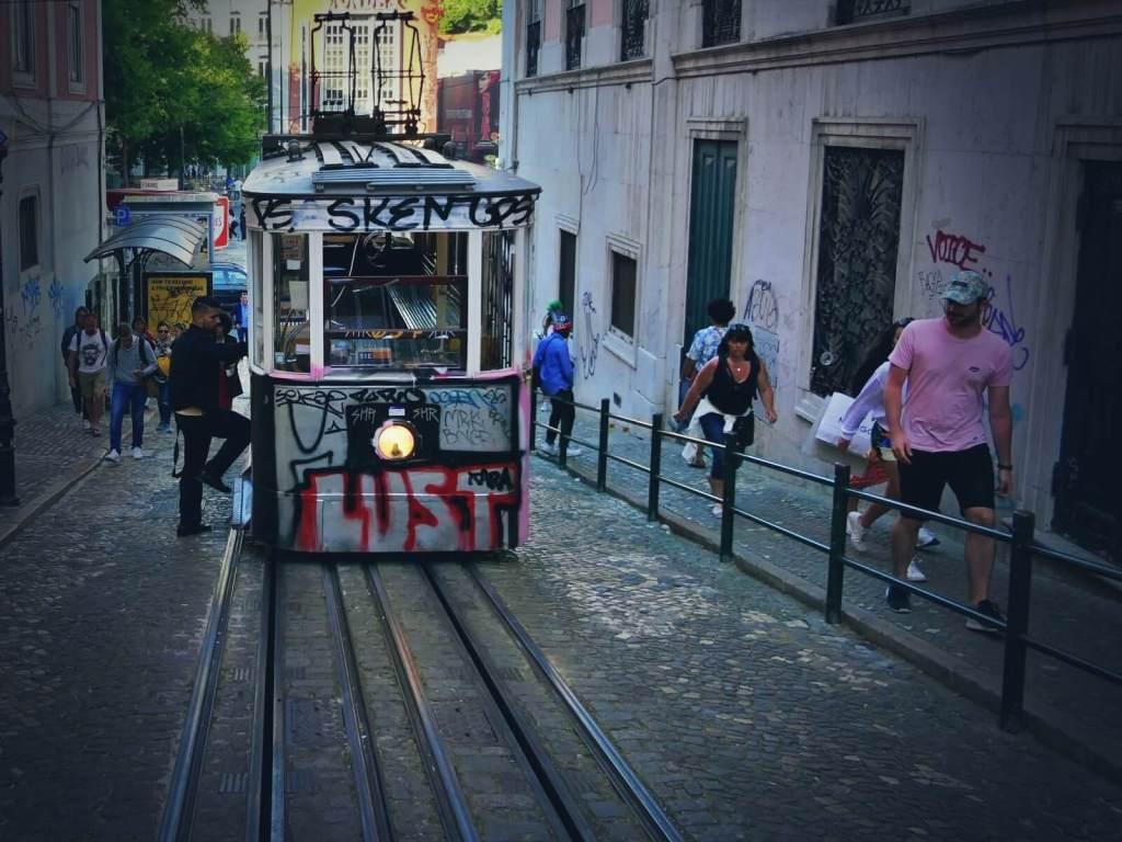 Tramwaj z Lizbony.