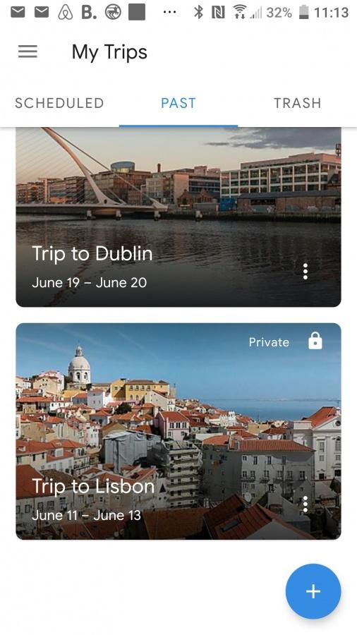 Aplikacja dla podróżników Sygic Travel.