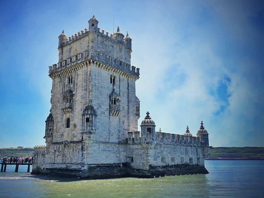 Torre de Belém w Lizbonie.