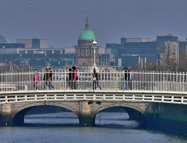 Widok na Dublin.