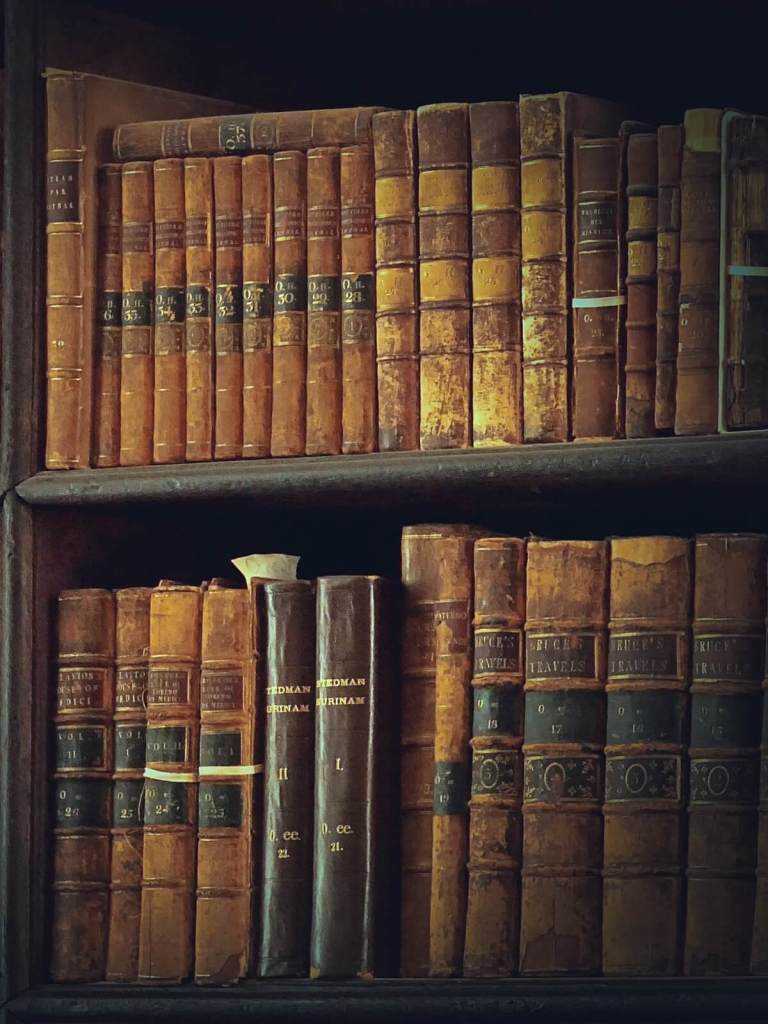 Biblioteka z Trinity College.