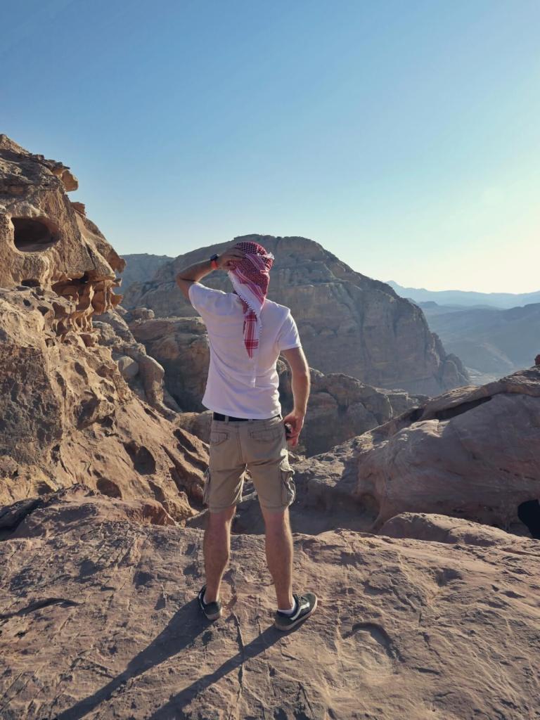 Widok na Wadi Musa.