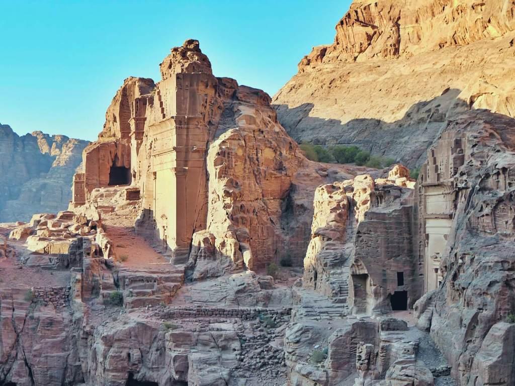 Skalne miasto, Petra.