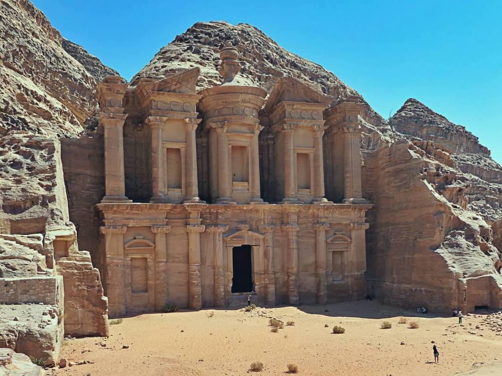 Klasztor w starożytnej Petrze w Jordanii.