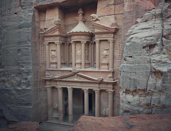Skarbiec Faraona w Petrze.