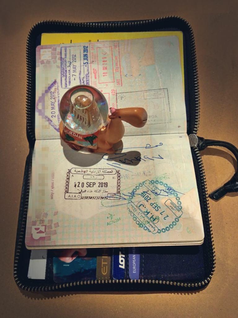 Jordan Pass, jordańska wiza.