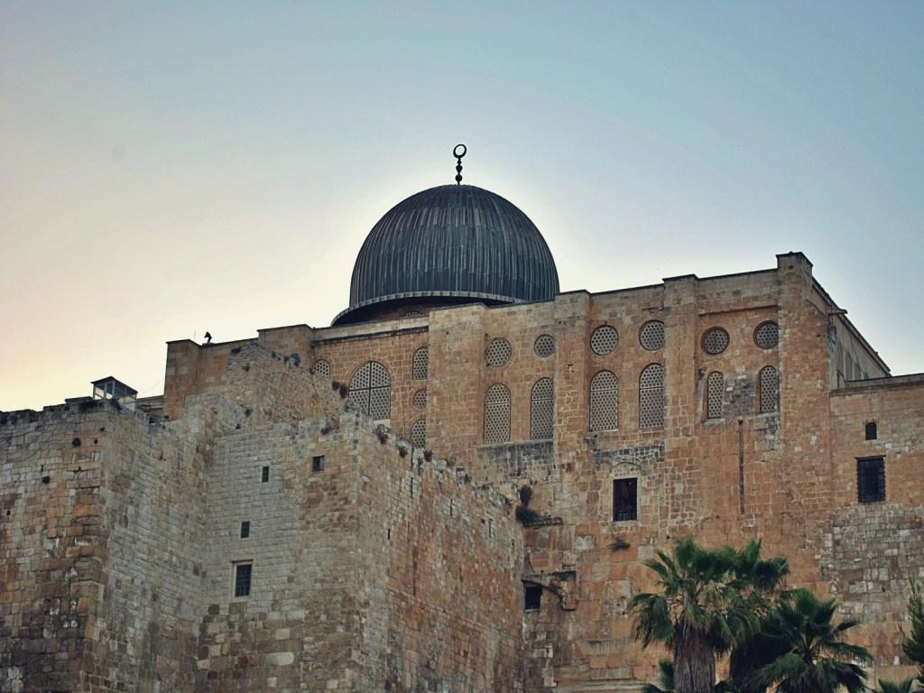Meczet Al-Aksa w Jerozolimie.
