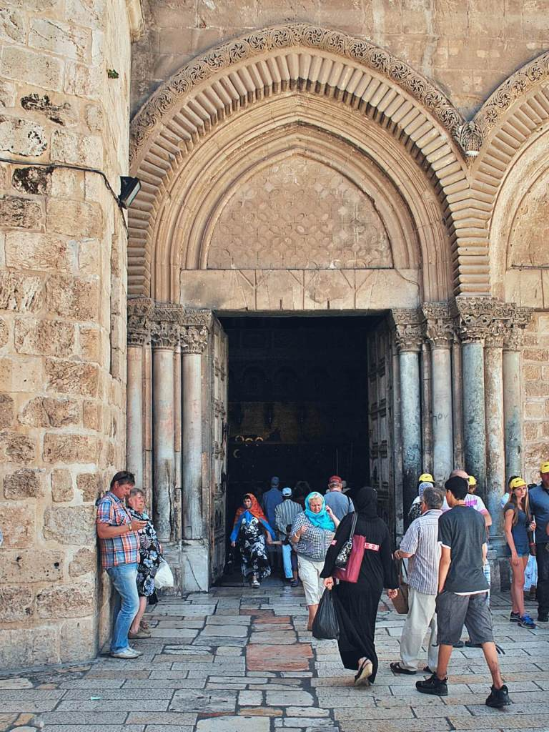 Bazylika Grobu Pańskiego w Jerozolimie.