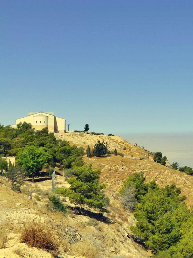 Kościół na górze Nebo w Jordanii.
