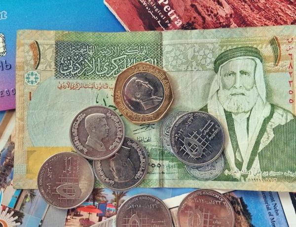 Jody są walutą Jordanii.