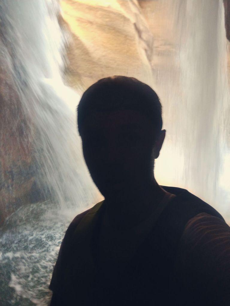 Wodospad Wadi Mujib.